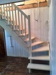 Деревянные лестницы в дом или на дачу по выгодной цене выбирайте у нас